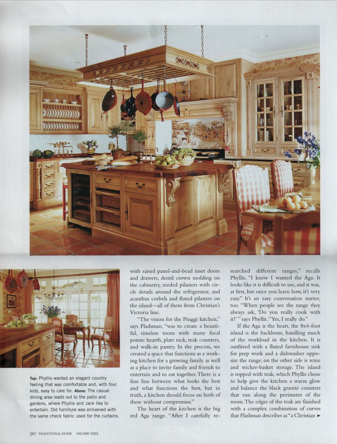 Traditional Home Custom cabinetry