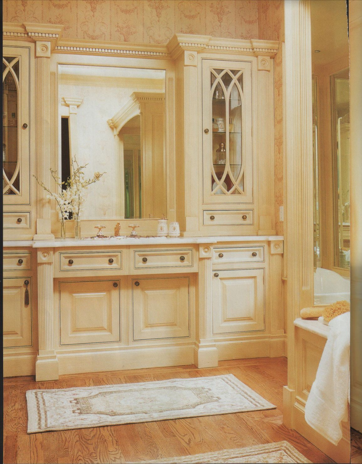Traditional Home Master bathroom vanity
